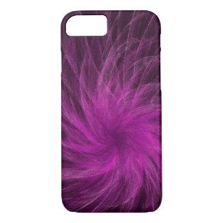 Lavender Spiral3 - Apple iPhone Case