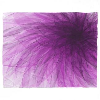 Lavender Spiral - Fleece Blanket