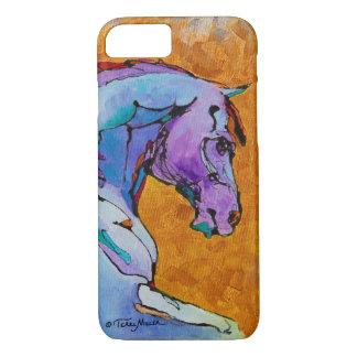 Lavender Stallion iPhone 7 case