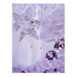 """""""Lavender Star and Crystals"""" collection Postcard"""