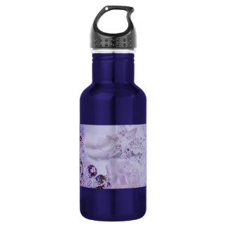 """Lavender Star and Crystals"" collection Water Bottle"