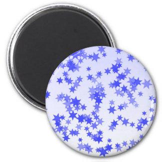 Lavender Stars Magnet