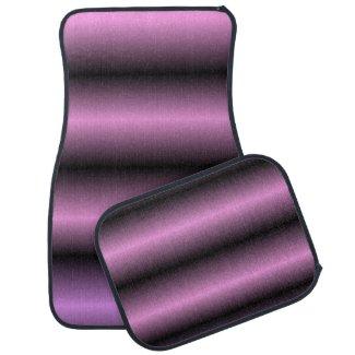 Lavender Stripe Floor Mat