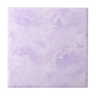 Lavender, Subtle, Light Purple, Elegant, Pale Tile