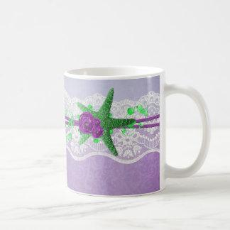 Lavender Summer Party Starfish Mug