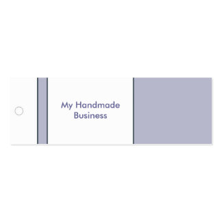 Lavender Tag Business Card