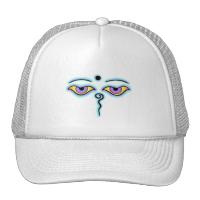 Lavender teal Buddha Eyes.png Mesh Hats