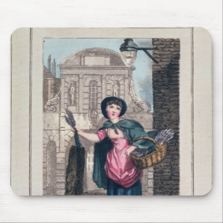Lavender, Temple Bar, from 'Cries of London' Mouse Pad