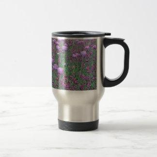 Lavender Tuilips Tom Wurl Travel Mug