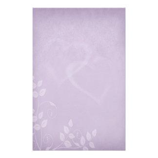 Lavender Vintage Stationery