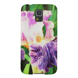 Lavender, Violet, Purple Iris Girly Galaxy S5 Cover