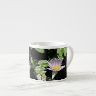 Lavender Water Lilies 6 Oz Ceramic Espresso Cup