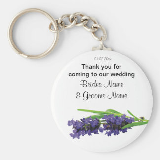 Lavender Wedding Souvenirs Keepsakes Giveaways Keychain
