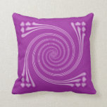 Lavender Whirligig Pillow