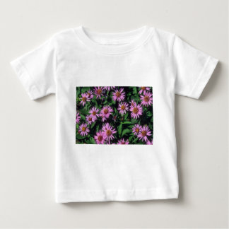 Lavender White Yellow Center Aster, (Aster Sibiric Tshirts