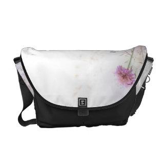 Lavender Wild Flowers Bag Tote Purse Courier Bag