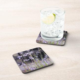 Lavender Wildflowers Drink Coaster