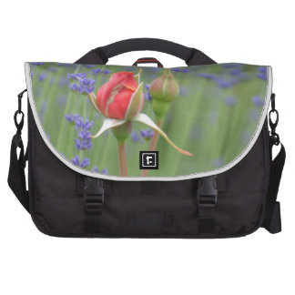 Lavender with Roses Bags For Laptop