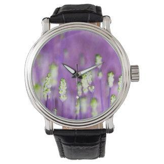 Lavender Wristwatch
