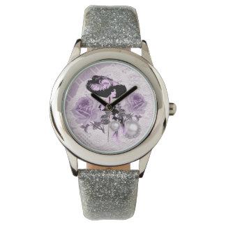 LavenderLady precioso VintageLace Relojes