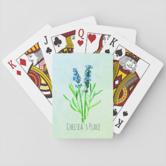 Lavender's Blue Dilly Deck Playing Cards