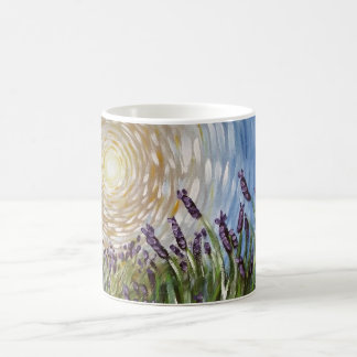 Lavenders in the Sun Art Designs Coffee Mug