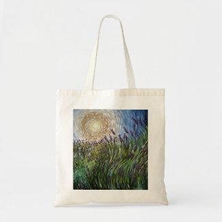 Lavenders in the Sun Art Designs Tote Bag