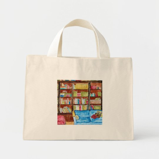Lavenham Priory Library Mini Tote Bag