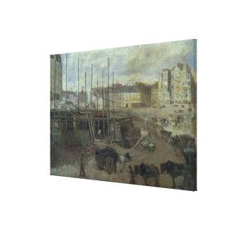 L'Avenue de L'Opera, 1878 Lienzo Envuelto Para Galerias