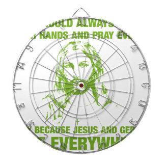 Lávese las manos y ruegue - Jesús y los gérmenes…