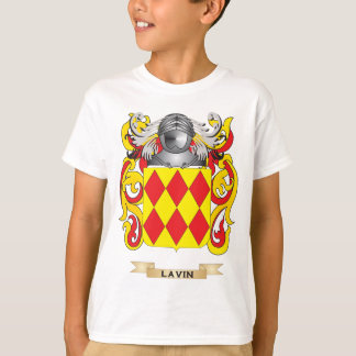 Lavin Coat of Arms (Family Crest) T-Shirt