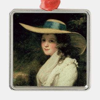 Lavinia Bingham, 2da chaqueta de punto 1785-6 de Adorno Navideño Cuadrado De Metal