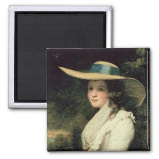Lavinia Bingham, 2da chaqueta de punto 1785-6 de l Imán Cuadrado