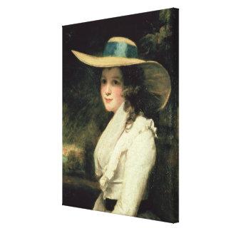 Lavinia Bingham, 2da chaqueta de punto 1785-6 de l Lona Envuelta Para Galerías