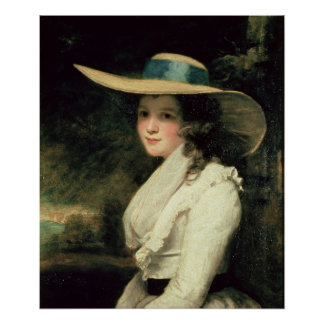 Lavinia Bingham, 2da chaqueta de punto 1785-6 de l Póster