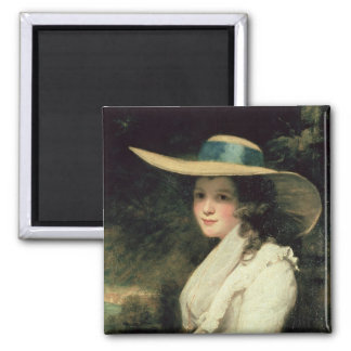 Lavinia Bingham, 2nd Countess Spencer  1785-6 2 Inch Square Magnet