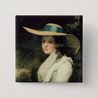 Lavinia Bingham, 2nd Countess Spencer  1785-6 Button