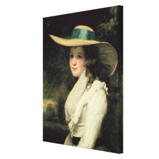 Lavinia Bingham, 2nd Countess Spencer  1785-6 Canvas Print