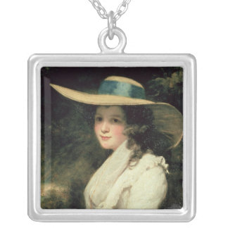 Lavinia Bingham, 2nd Countess Spencer  1785-6 Silver Plated Necklace