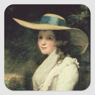 Lavinia Bingham, 2nd Countess Spencer  1785-6 Square Sticker