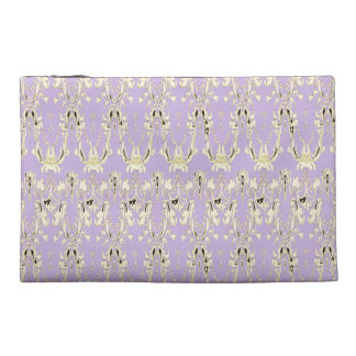Lavish-Lavender-Gold-Tribal-Travel-Stylish Travel Accessory Bag