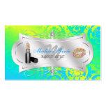 Lavish Lemon Lime Sparkling Cosmetologist Business Card Templates