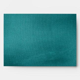 Lavish Peacock Feathers Envelope