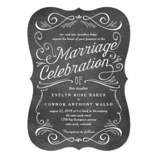 Lavish Scrolls Editable Color Wedding Invitations
