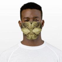 LavishlyOn Brown Kissing Fish face mask