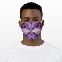 LavishlyOn Purple Kissing Fish Face Masks
