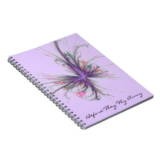 Lavneder Before they Fly Away Notebook