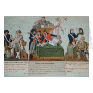 Lavoisier, the Comite de Surete Generale Card