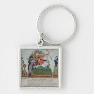 Lavoisier, the Comite de Surete Generale Keychain