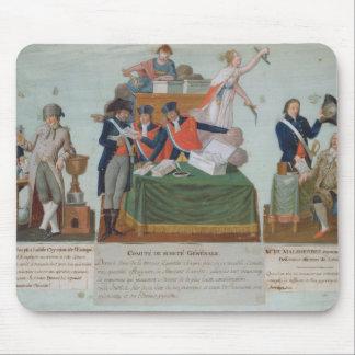 Lavoisier, the Comite de Surete Generale Mouse Pad
